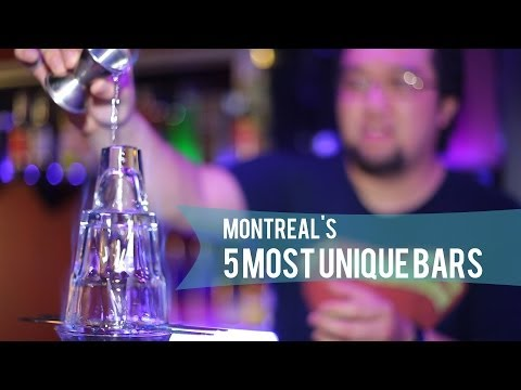 MONTREAL'S 5 MOST UNIQUE BARS | WHAT'S UP MONTREAL?