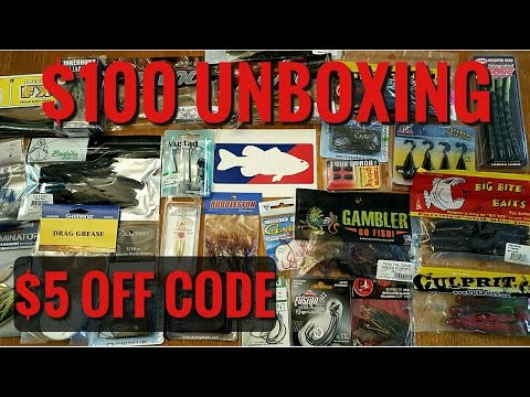 Tackle Warehouse $100 Unboxing -- PLUS $5 Off Code