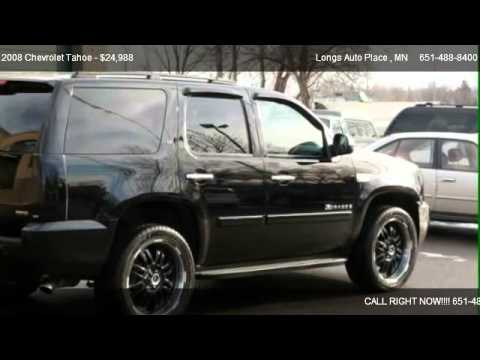 2008 chevrolet tahoe lt w 2lt for sale in saint paul mn 55117 youtube. Black Bedroom Furniture Sets. Home Design Ideas