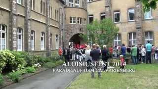 Aloisiusfest 2014 - Parade auf dem Calvarienberg
