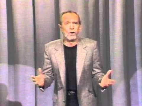 """George Carlin, 1985 """"Losing Things"""""""