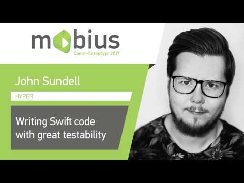 John Sundell — Writing Swift code with great testability