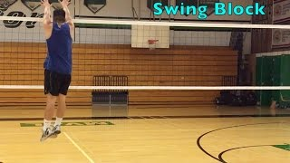 Middle Blocker Footwork - How to BLOCK a Volleyball Tutorial (part 1/2)