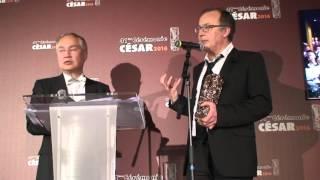 Philippe Faucon César 2016 de la Meilleure Adaptation pour Fatima