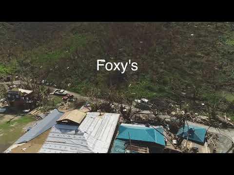 Jost Van Dyke Post Hurricanes 2017