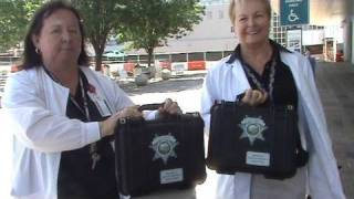 Deputy Sheriffs Association Donates Cameras to Santa Clara Valley Medical Center