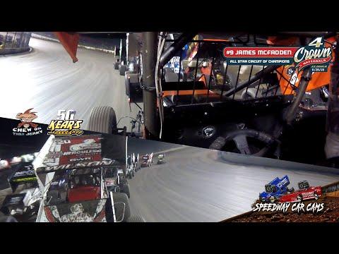 #9 James McFadden - All Star Circuit of Champions - Eldora Speedway 9-28-19 - In-Car Camera GoPro