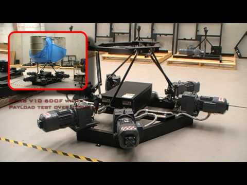 CKAS Electric 6DOF Motion Platforms/Systems for Motion and Flight Simulators