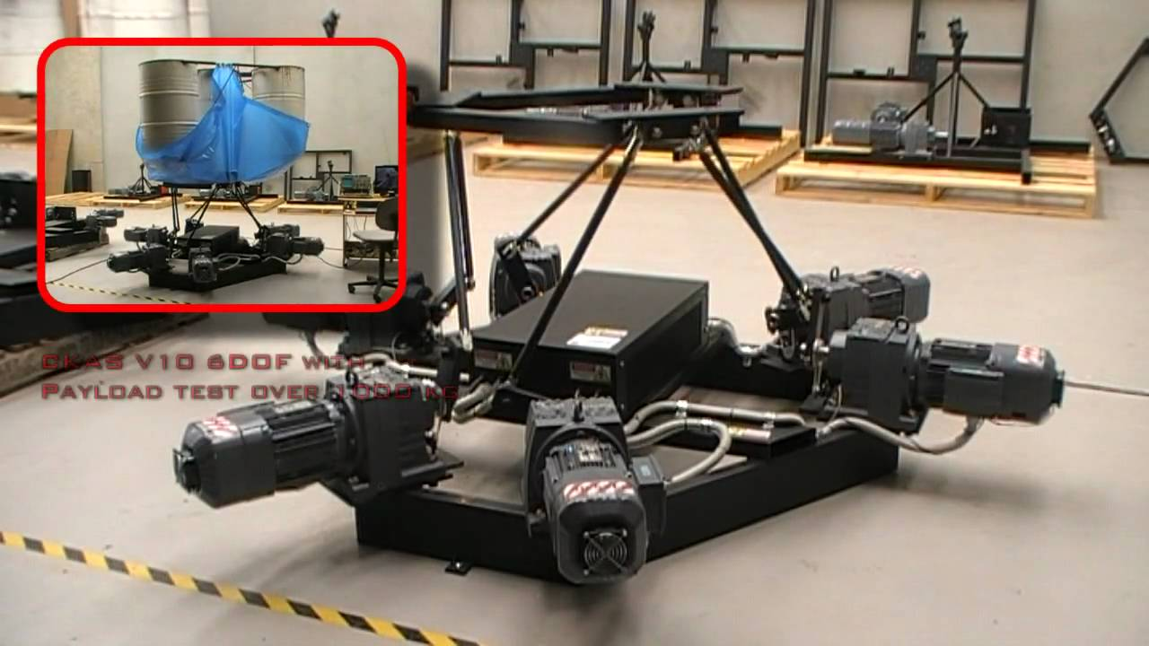 Ckas Electric 6dof Motion Platforms Systems For Motion And