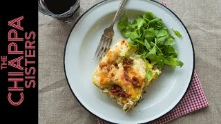Lasagne (with Ricotta, Parma Ham & Sun-dried Tomatoes)