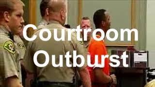 🐞Murder Suspect Has Court Outburst