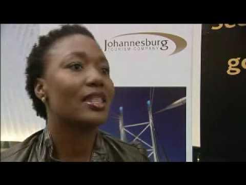Lindiwe Mahlangu, CEO, Johannesburg Tourism Company @ INDABA 2009
