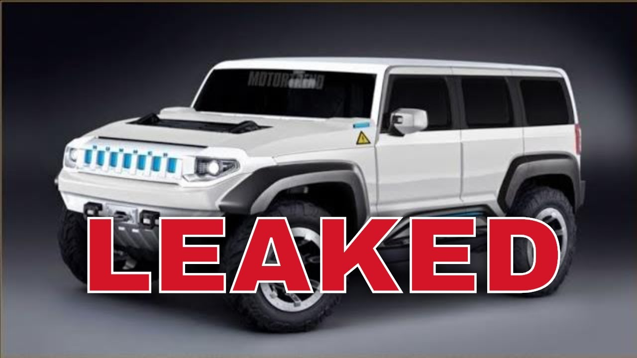 GMC Hummer EV electric pickup design leaks in ad ahead of ...