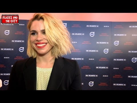 Billie Piper Interview - Penny Dreadful & Peter Capaldi Doctor Who
