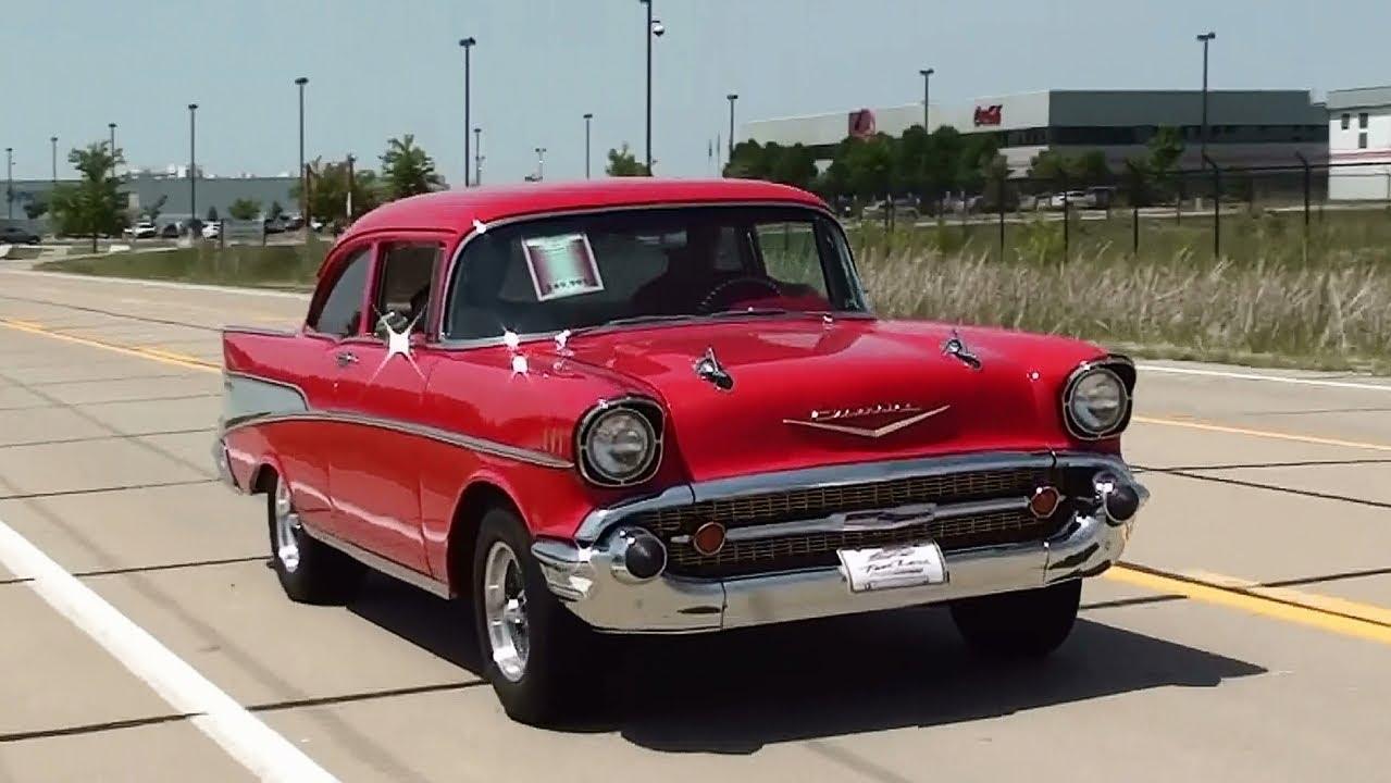 Test Drive - 1957 Chevrolet 210 450 HP 383 Stroker Hot Rod