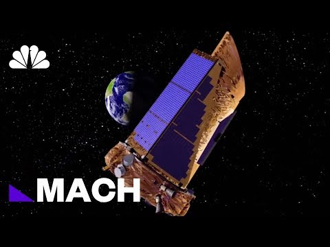 NASA's New Satellite TESS Will Look For Undiscovered Alien Worlds | Mach | NBC News