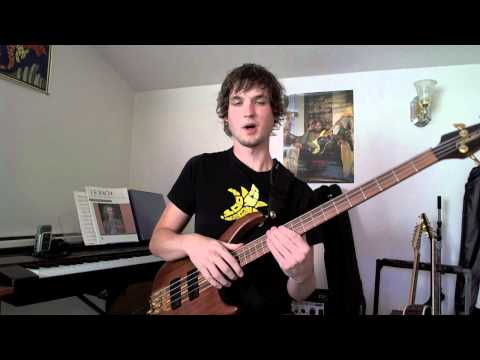 Bass Tapping Lesson - Triad Chords in E Minor