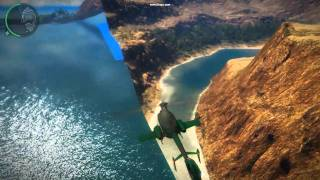 Just cause 2 Demo Outta ´ Map  Secrets ´n´ funny stuff ( 2 )  [HD] [HQ-Audio]