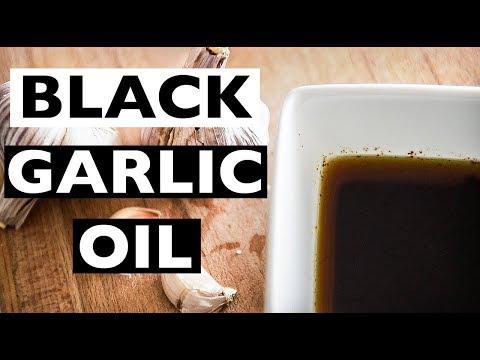 HOW TO MAKE BLACK GARLIC OIL ***AMAZING IN VEGAN RAMEN***