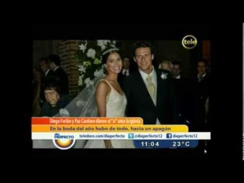 Día Perfecto - El casamiento de Diego Forlán y Paz Cardoso