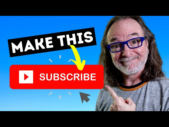 How To Make A Subscribe Link For Your YouTube Channel