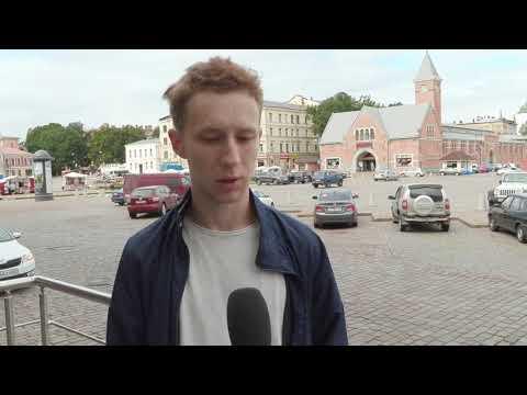 Семён Трескунов в Выборге. Интервью.
