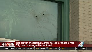 Jacksonville police investigate 2 overnight shootings