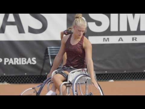 BNP Paribas Open de France 2017 wheelchair tennis - Day 1