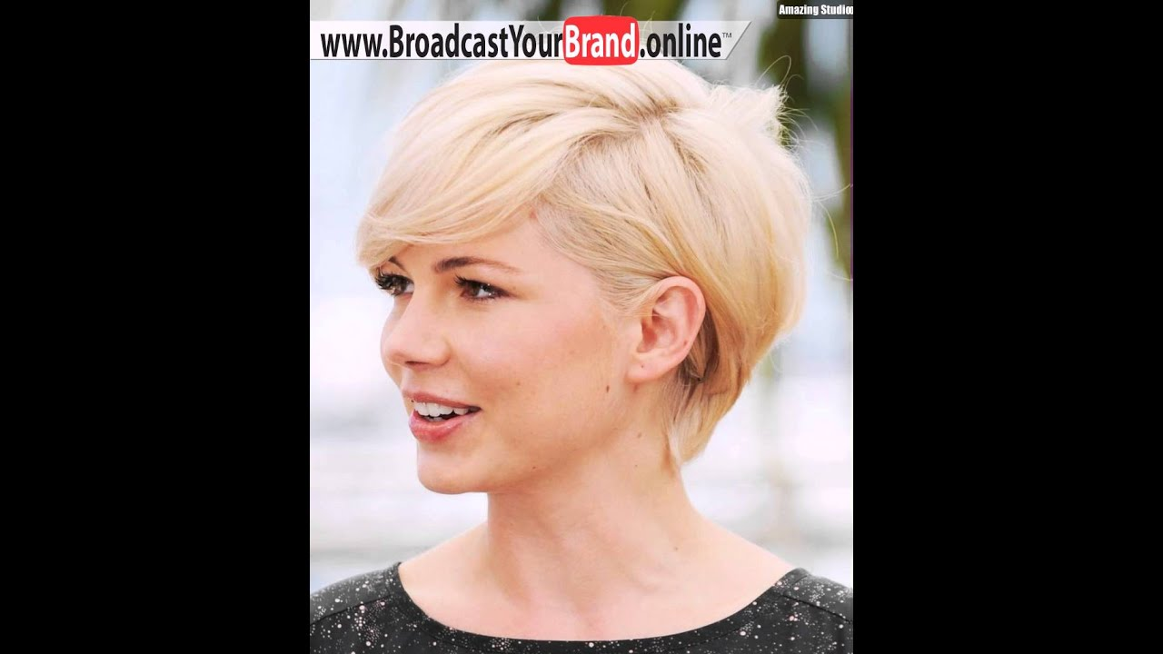 Aline Hairstyle With Rich Color