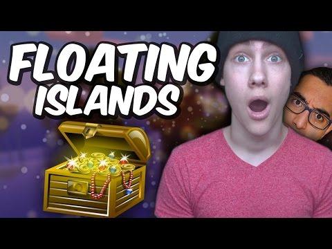 EEN GROTE SCHAT?!?! - Minecraft Floating Islands Duo