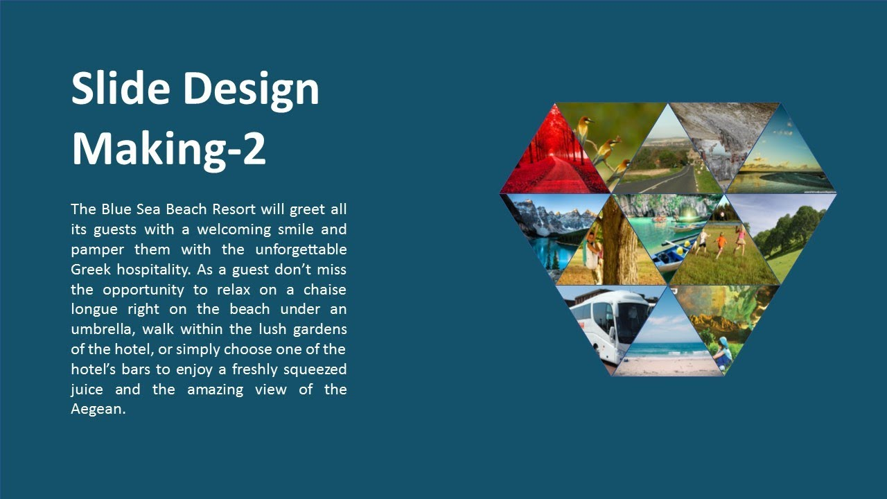 How To Make Creative Presentation Slide Templates In Microsoft Powerpoint 2017