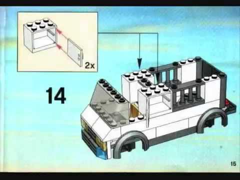 Инструкция по сборке lego перевозка заключенного 7286 youtube.