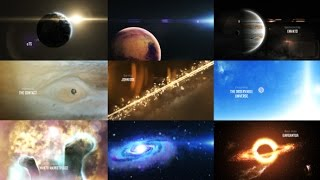 Solar System 3 ( The Observable Universe ) | After Effects template