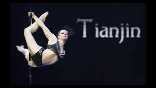 Violaine Richard 1st Place - World Pole Championships – China 2018