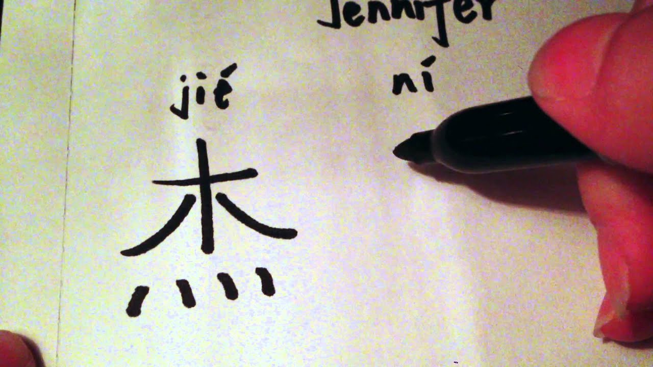 How to write the name jennifer in chinese characters youtube how to write the name jennifer in chinese characters expocarfo