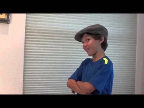 Chris Apy Age 9, Newsies Audition for Les