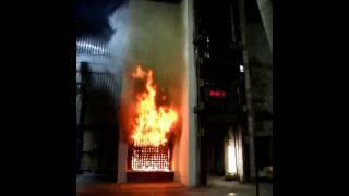 BRE Fire Testing of an External Wall Insulation System