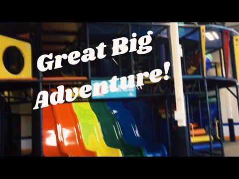 Great Big Adventure Indoor Playground! Winnipeg, MB