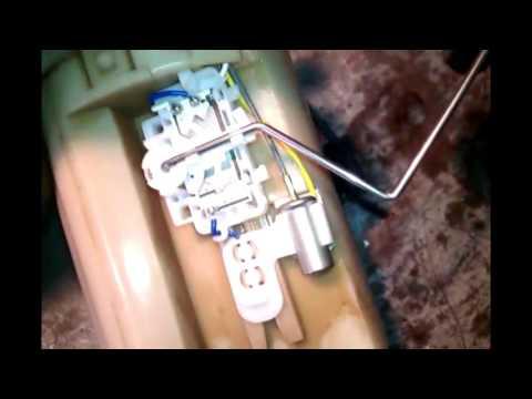 Daewoo Matiz - Замена датчика уровня топливо