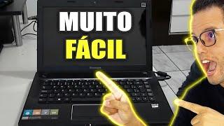 Como formatar notebook lenovo G405 thumbnail