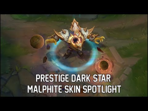 Prestige Dark Star Malphite Skin Spotlight - League of Legends