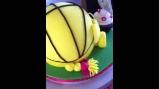 Little Miss Sunshine Cake.