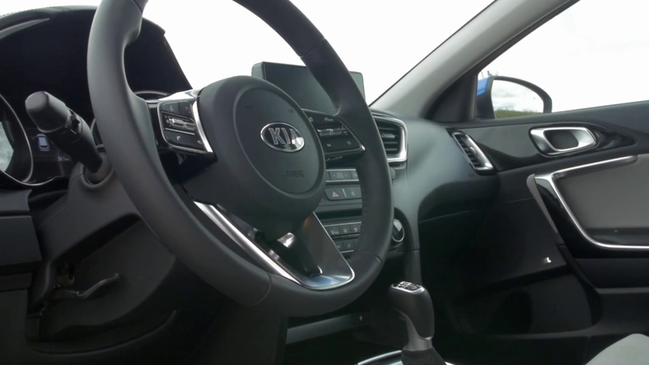 The New Kia Ceed Interior Design In Blue Flame Youtube
