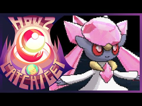 How & Where to catch/get - Diancie w/Mystery Gift in Pokemon X and Y