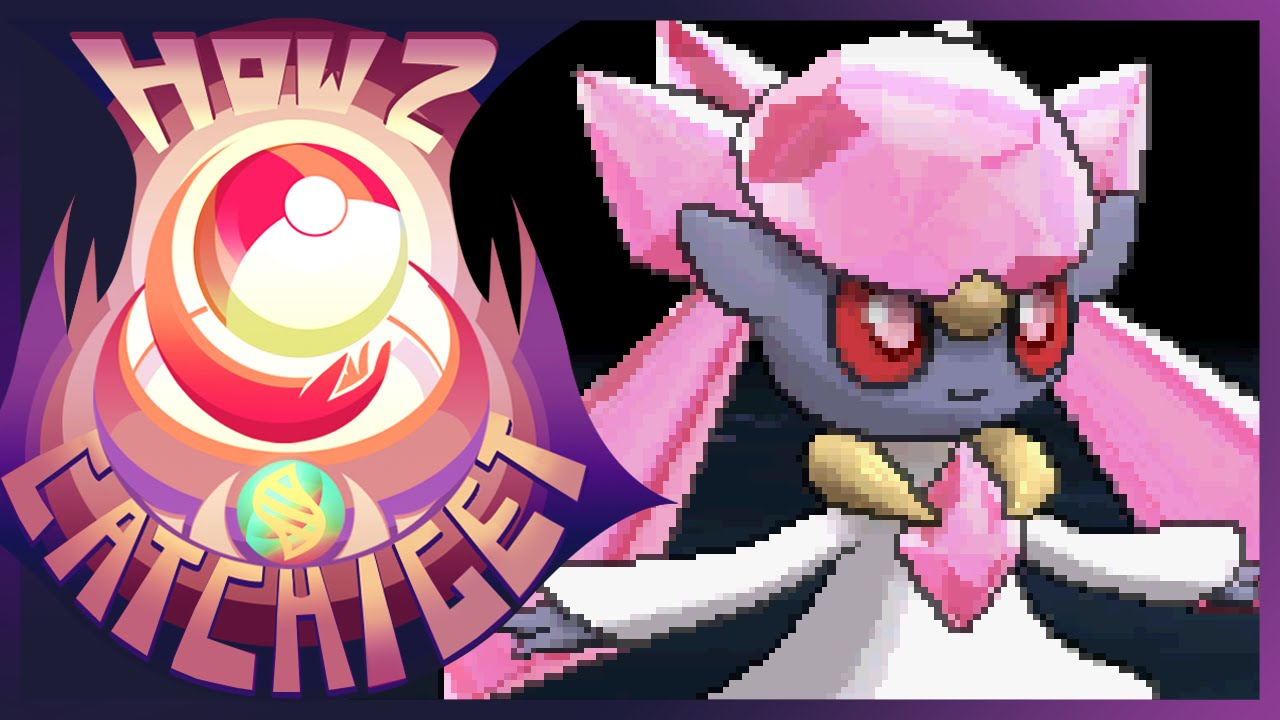 How Where To Catch Get Diancie W Mystery Gift In Pokemon X And Y