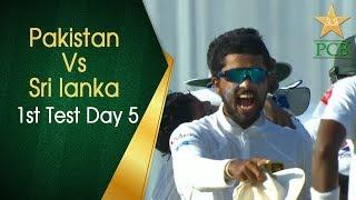 Pakistan vs Sri Lanka | 1st Test Day 5 | PCB