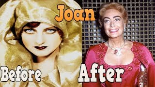 Joan Crawford ♕  Transformation From 1 To 72 Years Old