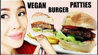 How To Make Tasty Vegan Burger Patties Ft  Honest Dad Taste Test Beautyklove