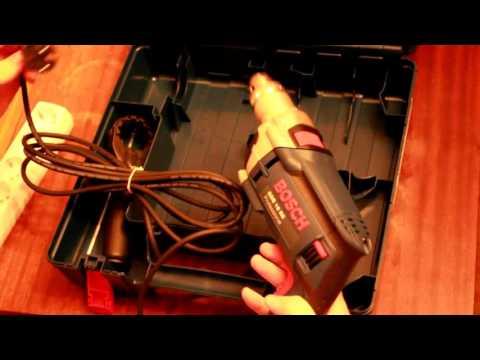 Распаковка Ударной дрели Bosch GSB 16 RE