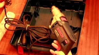 Розпакування Ударної дрилі Bosch GSB 16 RE